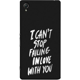 FUSON Designer Back Case Cover for Sony Xperia X :: Sony Xperia X Dual F5122 (Best Quotes Love Words Always Happy Together)