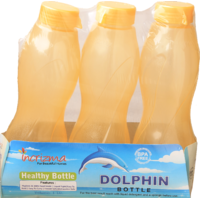 Incrizma - Dolphin Bottle - 3 Set Water Bottles - Each 1000ml - BPA Free - 5116188