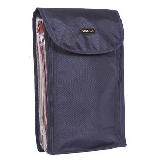 Shirt Bag - Shirt Covers / Pouch - Navy Blue Color - For 4 Shirts - By Bags R Us