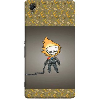 FUSON Designer Back Case Cover for Sony Xperia X :: Sony Xperia X Dual F5122 (Chain Chronicle Weeping Fire Sprite Background)