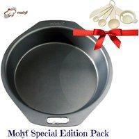 Molyf Outperform Non Stick Round Cake Mold / Tin / Pan, 22 Cm / 8.5 Inch