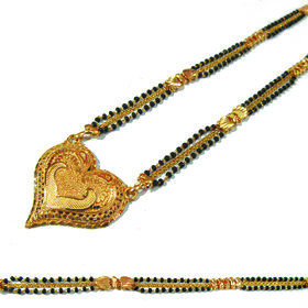 Gold Plated Alloy Festive/Designer Necklace With Chain