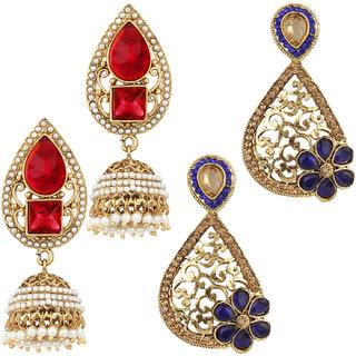 Jewels Capital Exclusive Combo 2 Earrings. 30 6 17 m4
