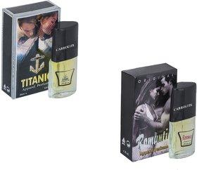 Carrolite Combo Romantic-Titanic Perfume
