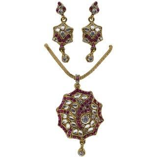 Trendy Multi Colour Designer Jewellery Set