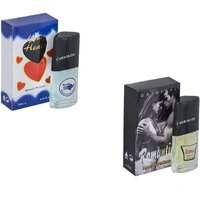 Carrolite Combo Romantic-Younge Heart Blue Perfume