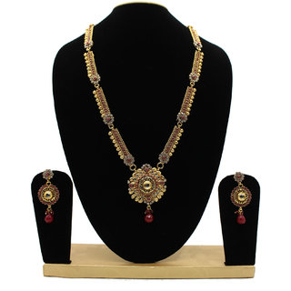 Trendy Multi Colour Designer Jewellery Set
