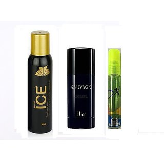 Deo Super Sale - Ice Deo (75 ml) + Hot collection deo (75 ml) + DX Deo (10 ml)
