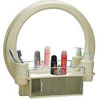 Cipla Plast Decor Designer Mirror Cabinet-Ivory