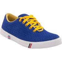 Namah Men'S Blue Lace Up Casual Shoes