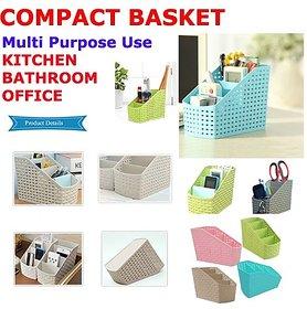 Huskey-Apex Multipurpose Storage Basket (Assorted Colour)