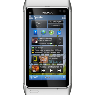 Full Body Housing Panel For Nokia N8 (silver)