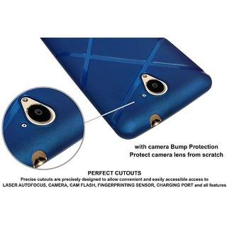 Nokia 5 Rubberised Matte Soft Back Cover (Dark Blue)