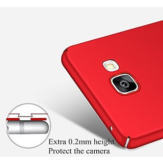 buy online cd205 91378 Micromax Unite Canvas 4 Pro Q465 Matte Hard Case Back Cover (Red)