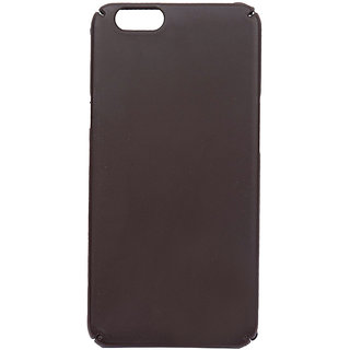 Micromax Unite Canvas 4 Pro Q465 Matte Hard Case Back Cover (Brown)