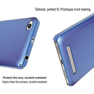 Micromax Canvas Mega 2 Q426 Matte Hard Case Back Cover (Dark Blue)
