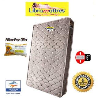 Libramattres Polaris 6 Spring Mattress 1 Pillow Free