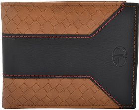 ADAMO Brown & Black Men's Wallet