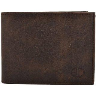 ADAMO Brown Men's Wallet (Synthetic leather/Rexine)