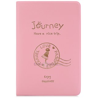Fashion Soft Unisex Travel Passport Cover Travel Card Holder ID Document Holder