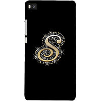 99sublimation HuaweiP8 Bling Alphabet S 3D D1577
