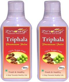 Zindagi Triphala Juice - Natural Health Supplement (1000ml)