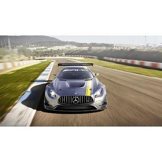 Car Mercedes Benz Amg Gt3 poster (Canvas Cloth Print, 12 x18 inch)