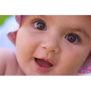 buy myimage cute baby smile with shocking poster poster canvas