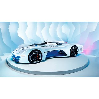 Car Renault Alpine poster (Canvas Cloth Print, 12 x18 inch)