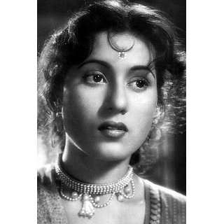MYIMAGE Bollywood Legend Beauty Madhubala Poster (Canvas Cloth Print, 31cm x 46 cm)