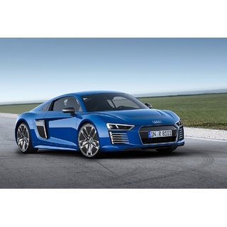 Car Audi R8 poster (Canvas Cloth Print, 12 x18 inch)