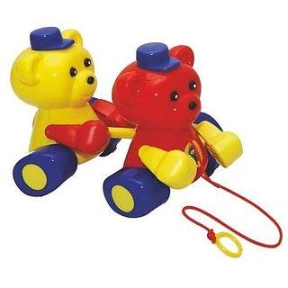 Pull Along Teddy Rider