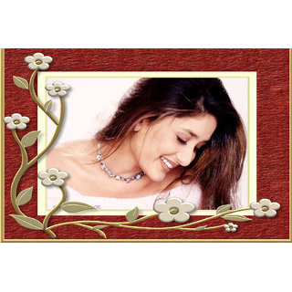 MYIMAGE Kareena Kapoor Smiling Poster (Canvas Cloth Print, 12x18 inch)