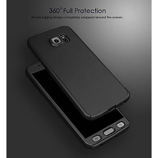 online store 714ed e2081 Vivo V3 360 Full Body Protection Front Back Cover Case with Tempered Glass  (Black) By BRAND FUSON