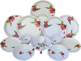 Czar 24 Pc Melamine Multicolor New Dinner Set