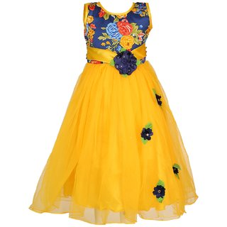 Girls party Wear Long Frock Dress
