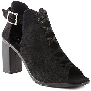 CATWALK Black BLOCK Heels