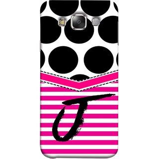 FUSON Designer Back Case Cover for Samsung Galaxy E7 (2015) :: Samsung Galaxy E7 Duos :: Samsung Galaxy E7 E7000 E7009 E700F E700F/Ds E700H E700H/Dd E700H/Ds E700M E700M/Ds  (Beautiful Cute Nice Couples Pink Design Paper Girly J)