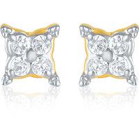 Mahi Elegant Square Earrings