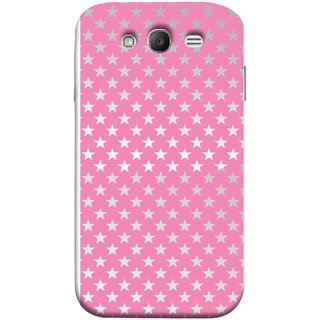 FUSON Designer Back Case Cover for Samsung Galaxy Grand I9082 :: Samsung Galaxy Grand Z I9082Z :: Samsung Galaxy Grand Duos I9080 I9082 (Small Lot Of Stars Baby Pink Back Shining Glossy Baby)