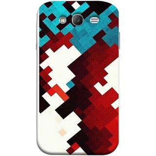 FUSON Designer Back Case Cover for Samsung Galaxy Grand I9082 :: Samsung Galaxy Grand Z I9082Z :: Samsung Galaxy Grand Duos I9080 I9082 (Beautiful Mobile Wallpaper Bright Design Red Blue )