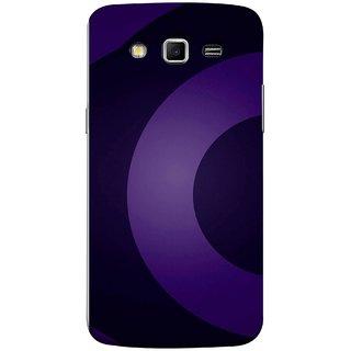 FUSON Designer Back Case Cover for Samsung Galaxy Grand 2 :: Samsung Galaxy Grand 2 G7105 :: Samsung Galaxy Grand 2 G7102 :: Samsung  Galaxy Grand Ii (Light And Dark Blue Beautiful Pattern Canvas Paint)