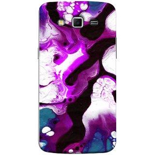 FUSON Designer Back Case Cover for Samsung Galaxy Grand 2 :: Samsung Galaxy Grand 2 G7105 :: Samsung Galaxy Grand 2 G7102 :: Samsung  Galaxy Grand Ii (Purple Painting Wallpaper White Iceberg River Flow)