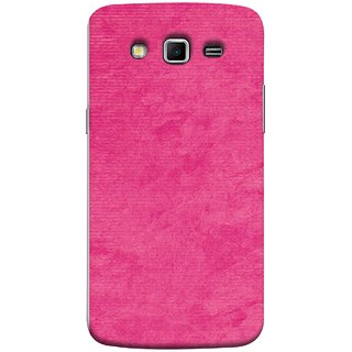 FUSON Designer Back Case Cover for Samsung Galaxy Grand 2 :: Samsung Galaxy Grand 2 G7105 :: Samsung Galaxy Grand 2 G7102 :: Samsung  Galaxy Grand Ii (Cloth Design Dark Pink Baby Maroon Paper Sheet )