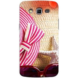 FUSON Designer Back Case Cover for Samsung Galaxy Grand 2 :: Samsung Galaxy Grand 2 G7105 :: Samsung Galaxy Grand 2 G7102 :: Samsung  Galaxy Grand Ii (Tropical Beach In Summer Holiday Toy Table )