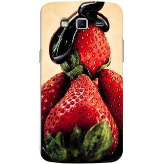 FUSON Designer Back Case Cover for Samsung Galaxy Grand 2 :: Samsung Galaxy Grand 2 G7105 :: Samsung Galaxy Grand 2 G7102 :: Samsung  Galaxy Grand Ii (Best Fresh Strawberry Sweet Dish Homemade Recipes)