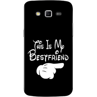 FUSON Designer Back Case Cover for Samsung Galaxy Grand 2 :: Samsung Galaxy Grand 2 G7105 :: Samsung Galaxy Grand 2 G7102 :: Samsung  Galaxy Grand Ii (Friends Always Together Dosti Yaari Masti Maja Fun)