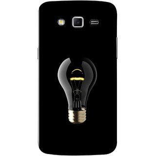 FUSON Designer Back Case Cover for Samsung Galaxy Grand 2 :: Samsung Galaxy Grand 2 G7105 :: Samsung Galaxy Grand 2 G7102 :: Samsung  Galaxy Grand Ii (Hanging Light Bulb In Dark Room Ceiling Darkness )