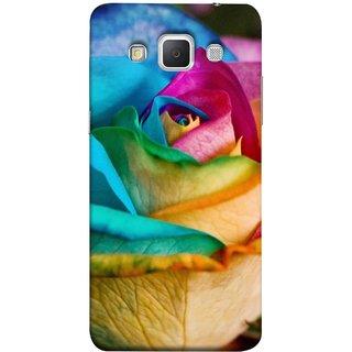 FUSON Designer Back Case Cover for Samsung Galaxy Grand 3 :: Samsung Galaxy Grand Max G720F (Rose Colours Red Pink Yellow Blue Lovely Roses)