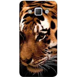 FUSON Designer Back Case Cover for Samsung Galaxy Grand 3 :: Samsung Galaxy Grand Max G720F (Staring In Jungle Long Whiskers Shivsena )